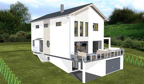 Planungsbeisiel Einfamilienhaus, Garage Im Keller