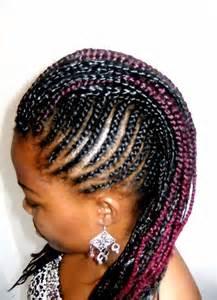 African Hair Braiding Corn Rows