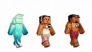 Moana And Xbox Characters Come To Minecraft Minecraft