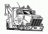Coloring Tow Truck Trucks Semi Pages Drawing Transportation Printables Trailer Wuppsy Clipart Printable Colouring Drawings Clip Cartoon Grain Cars Tractor sketch template