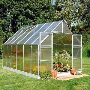 Serre De Jardin Polycarbonate : serre de jardin 9 9m en polycarbonate 6mm magnum halls ~ Dailycaller-alerts.com Idées de Décoration