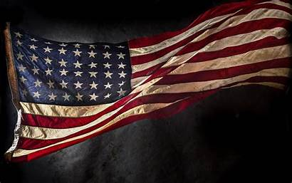 Flag American Wallpapers Flags Uhd Chrome Grunge