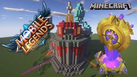 quot membuat mobile legends turret di minecraft quot minecraft build indonesia 15