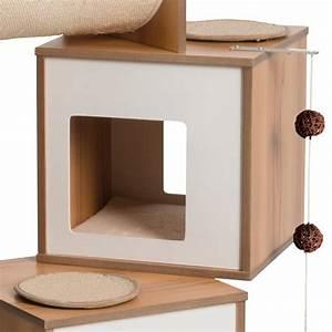 Arbre A Chat Moderne : arbre chat vesper tour arbre chat wanimo ~ Melissatoandfro.com Idées de Décoration