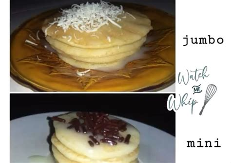 Oatmeal pancakes can be made with either quick oats (instant oats) or old fashioned rolled oats. Resep Pancake lembut tanpa baking sodaa 🍴 oleh Tari Utami - Cookpad