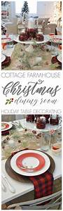 Cottage Farmhouse Christmas Dining Room Fox Hollow Cottage