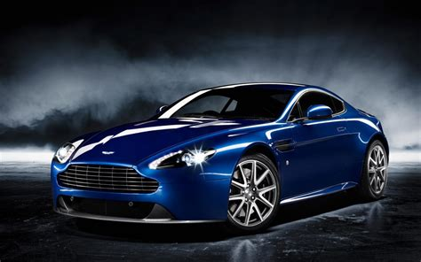 Aston Martin Wallpaper Blue Costom Cars #386 Wallpaper