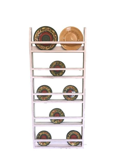 farmhouse plate rack wall hanging country rustic plate rack stand plate rack wall rustic