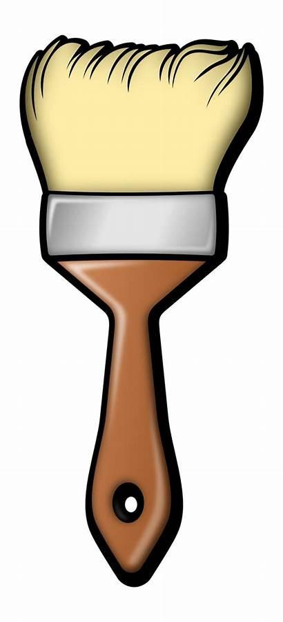 Brush Clip Clipart Paintbrush Paint Painting Pincel