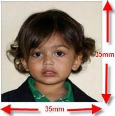 usa passport photo size