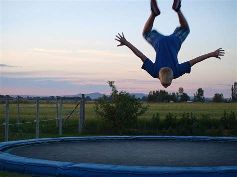 trampoline trick jumping  photo  pixabay