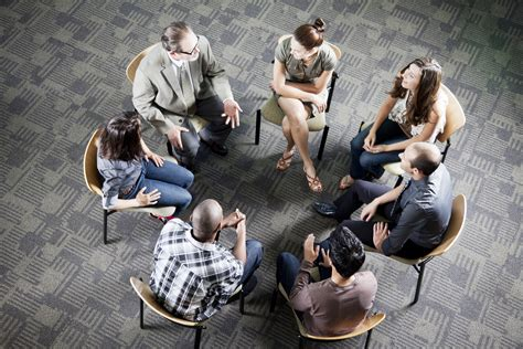 social therapy psychotherapy circle treatment members groups diverse process awareness aid open formation sitting