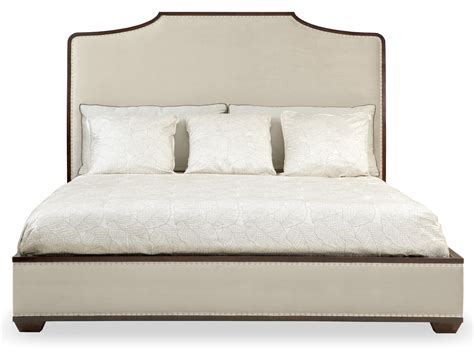 king panel bed with footboard upholstered bed bernhardt