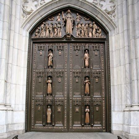 saint patricks cathedral  york city  dig hardware