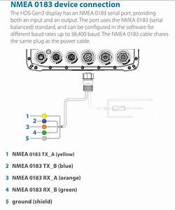 Nema0183 Interface Between Lowrance Hds And Cobra M57 - The Hull Truth