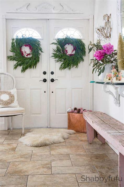 design ideas   entryway  christmas shabbyfufucom