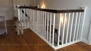 Garde corps horizontal, bois métal inox verre Art Escaliers