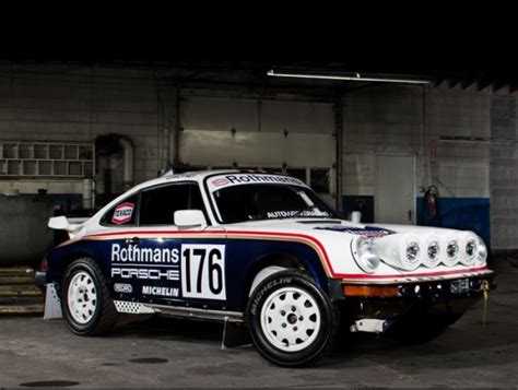 rothmans porsche rally now with 4wd porsche 953 rothmans rally tribute bring a