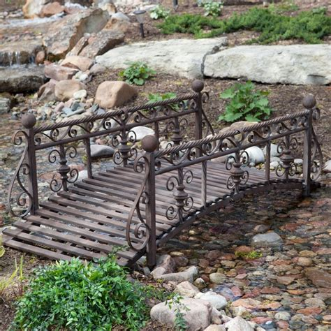 metal garden bridge 7 best images about garden bridges on pinterest metals decorating ideas and stream bed