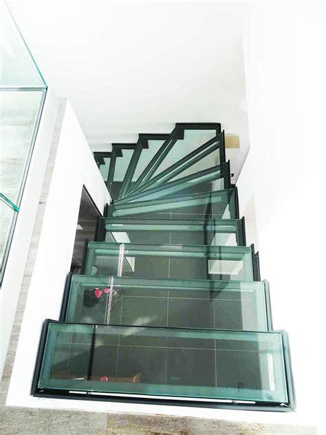 marches d escaliers en verre et dalle de verre righetti