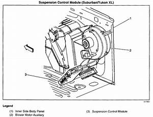 I Have A 2001 Suburban Lt With An Autoride Problem  The