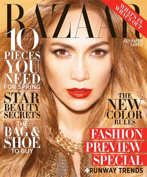 Viva J. Lo! Jennifer Lopez Covers Harper's