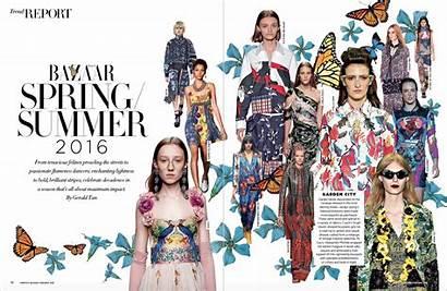 Bazaar Magazine Harper Singapura Nomiolo Editorial Layout