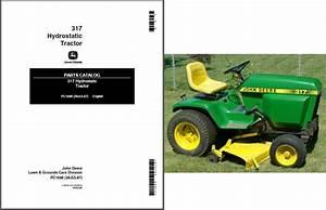 John Deere 317 Manual