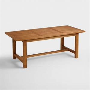 Wood Praiano Outdoor Dining Table World Market