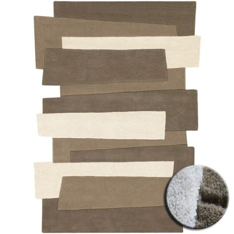 tapis contemporain pebbles par angelo beige