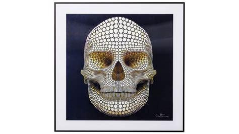 cadre 3d t 234 te de mort multicolore skull ebay