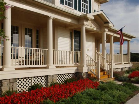 wrap around porch landscaping ideas wrap around front porch