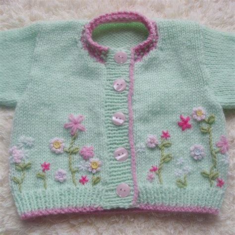 baby sweaters to knit 1000 images about embroidery on knitted baby sweaters on