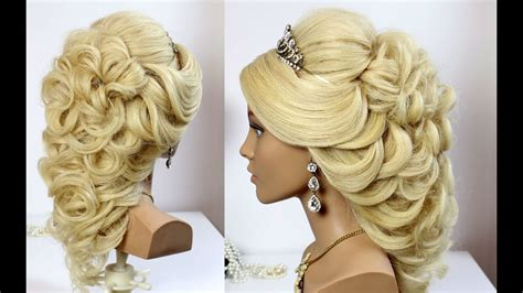 Wedding For Long Hair : Wedding Prom Hairstyle For Long Hair. Tutorial