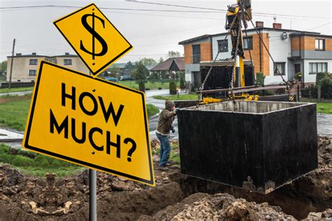 septic tank installation cost  basic pricing guide