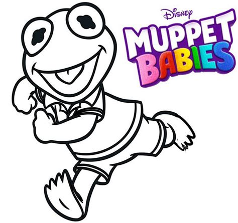 Pictures From The Muppets Animal Coloring Pages