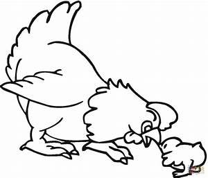Ausmalbild Huhn Und Kken Ausmalbilder Kostenlos Zum Ausdrucken