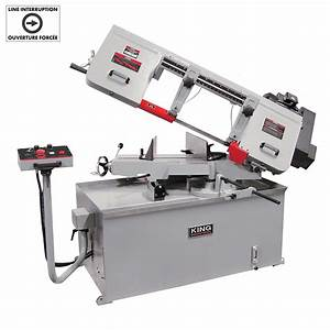 10 X 18 Variable Speed Swivel Metal Cutting Bandsaw 600