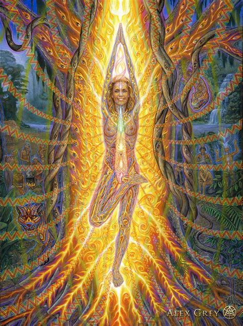 Multiple Dimensions Of Reality In Spiritual Art By Alex Grey