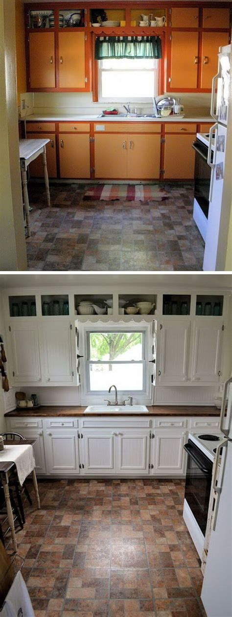 25 before and after budget friendly kitchen makeover ideas and designs for 2017