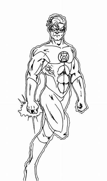 Coloring Pages Superhero Justice League Flash Batman