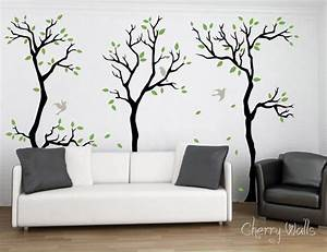 Wall stickers for living room this for all for Decorative wall stickers