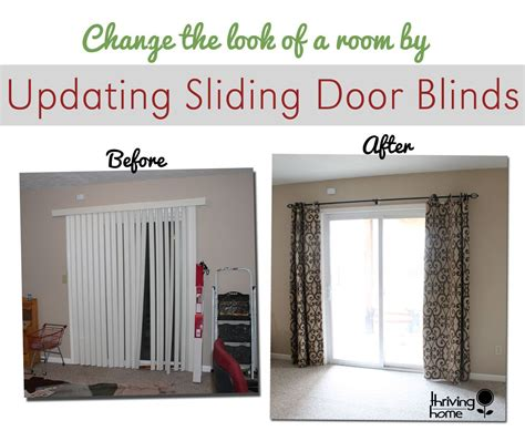 Replace Those Sliding Blinds With A Curtain Rod And Curtains! Why Didn't Pale Pink Eyelet Curtains Uk Lazada Velvet Curtain Fabric Australia Light Shower Rod Curved Bronze Country For Kitchen Lace Valances And Tiers Child S Bedroom