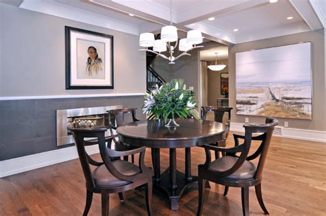 dining room transitional dining room calgary