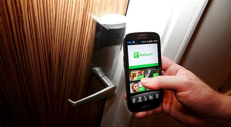 your mobile phone as a door key