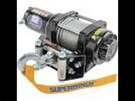 How Wire Atv Winch Minutes Superwinch