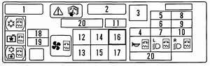 2000 Suzuki Esteem Fuse Box Diagram