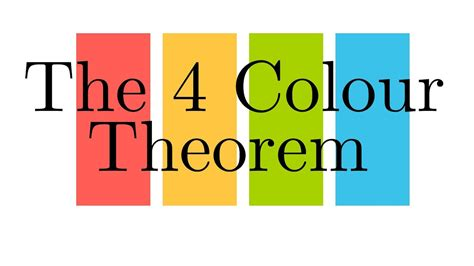 four color the four colour theorem