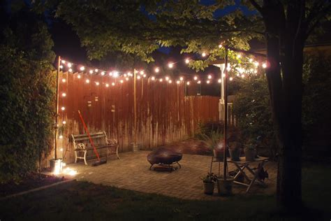 diy patio light string ideas savwi com