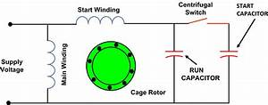 Motor Winding Diagram